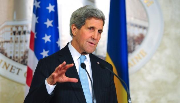 У России есть выбор: санкции или полное выполнение Минска - Керри