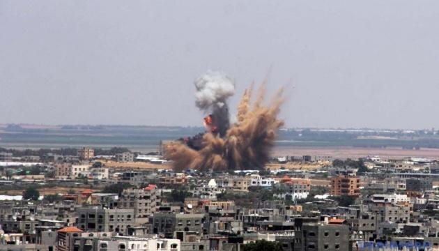 Израиль нанес удар по объектам ХАМАС на границе с сектором Газа