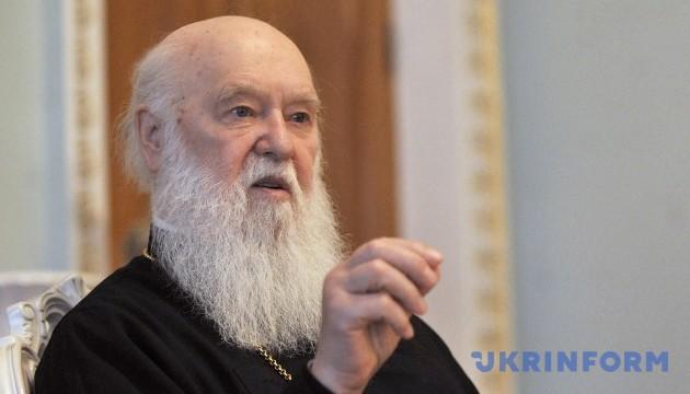 Патріарх Філарет: При об'єднанні в Єдину православну церкву духовенство Московського патріархату нічого не втратить