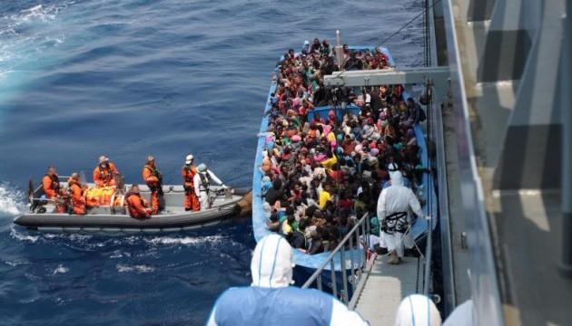 У Сицилійській протоці врятували майже 2 тис. біженців