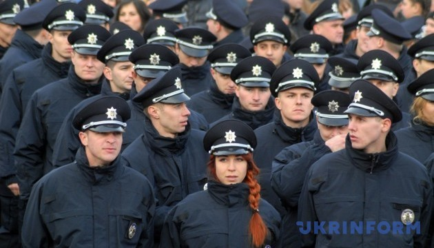 New 172 police patrol officers take oath in Mariupol