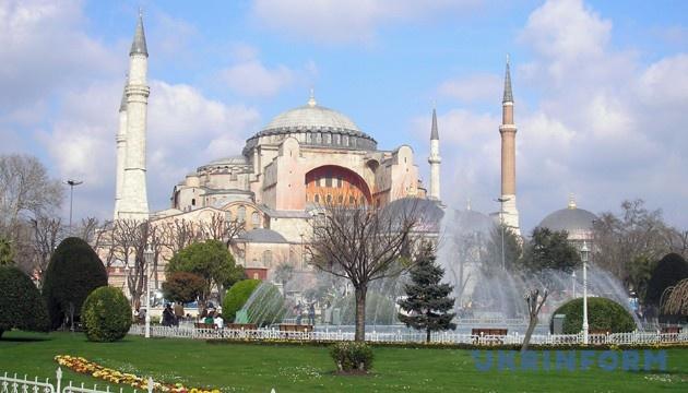 У храмі Святої Софії в Стамбулі з'явиться аудіогід українською мовою – посол