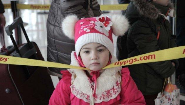 Rund 3.000 Flüchtlinge in Ukraine registriert