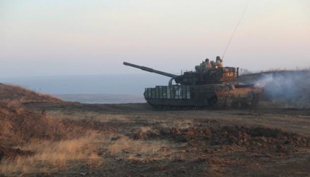 Нова танкова бригада «відстрілялася» на полігоні