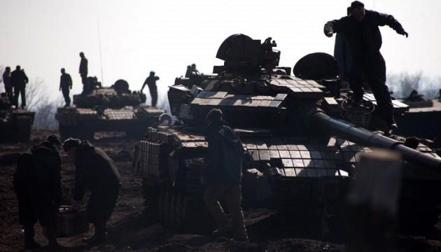 Розвідка повідомила ОБСЄ, де бойовики замаскували танки та артилерію