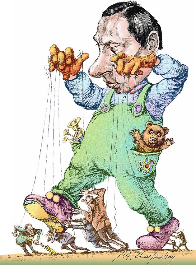 Карикатура Mikhail Zlatkovsky