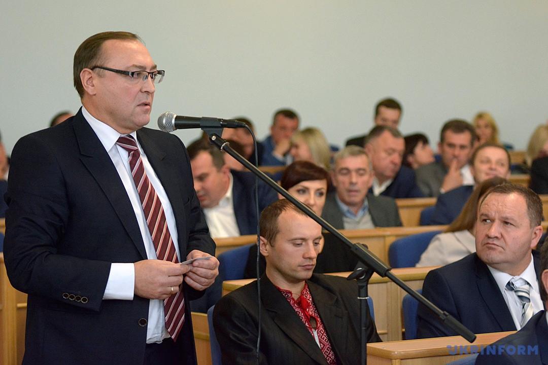 Председатель Винницкой облгосадминистрации Валерий Коровий