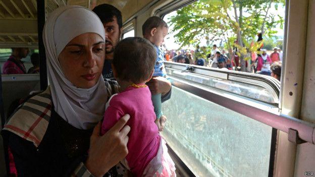 беженцы в Герамнии фото: Die Welt