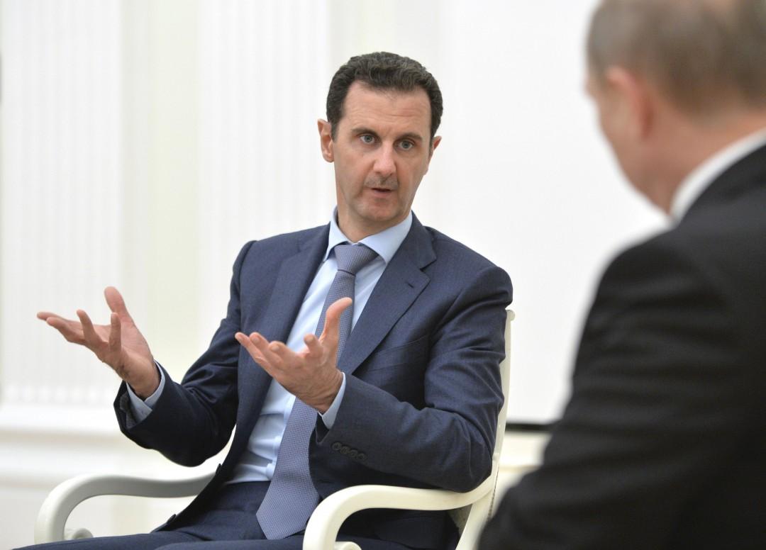 Асад і Путін фото: ТСН