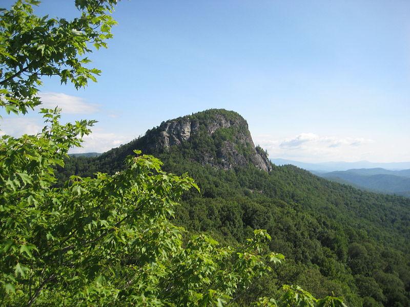 Фото: Table Rock («Гора-стіл»), Лінвилл-Гордж, Північна Кароліна