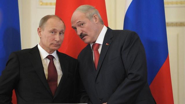 Лукашенко и Путин. Фото: newsonline24.com.ua