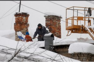 Some 380 towns and villages in Ukraine left without electricity due to bad weather