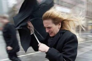 Киян попереджають про сильний вітер - до 18 метрів на секунду