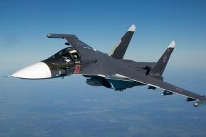Два російських Су-34 зіткнулися в повітрі на Далекому Сході