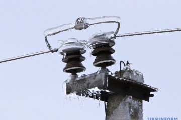 Over 600 towns and villages in two regions of Ukraine still without electricity due to bad weather