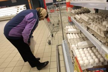 En Ukraine, le prix des oeufs pourrait augmenter de 10% à 15%