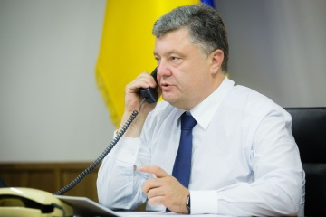 Poroshenko, Merkel discuss situation in Donbas, Nord Stream 2 project