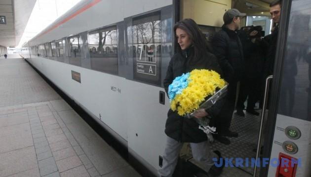 Маршрут поезда Интерсити