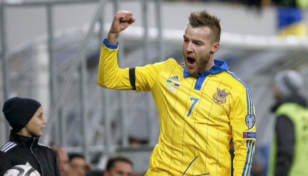 Winger Yarmolenko ranked second best among prospective stars in Champions League play-offs