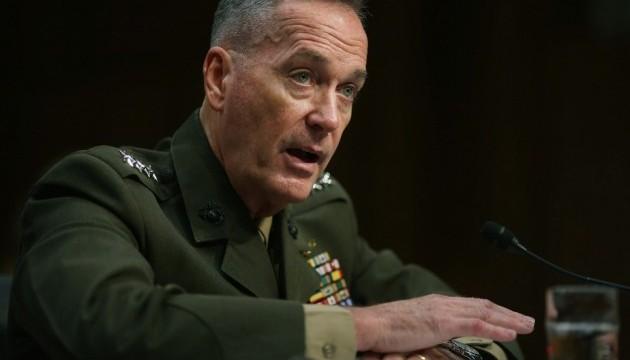 США не попереджали Росію про нанесення ударів по об'єктах у Сирії - Данфорд