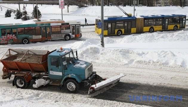 Киевлянам объяснили, какие участки в столице расчистят в первую очередь