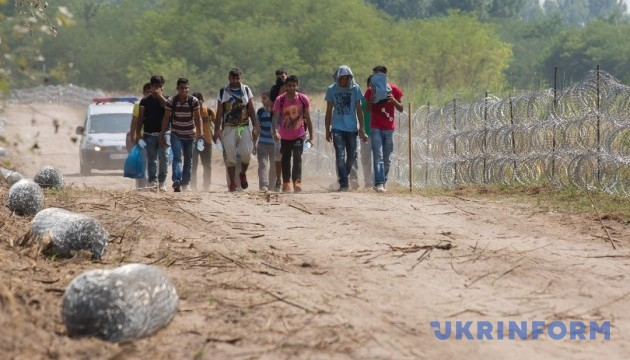 На Закарпатті поліція виявила групу нелегальних мігрантів