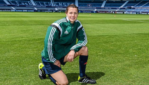 Ukrainische Fußball-Schiedsrichterin Monzul leitet erstmals WM-Qualifikationspiel zwischen Österreich und Färöer
