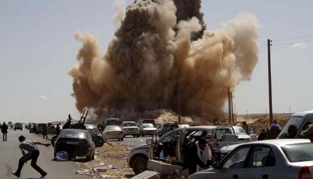 Ливийские повстанцы убили 14 военных из правительственных сил