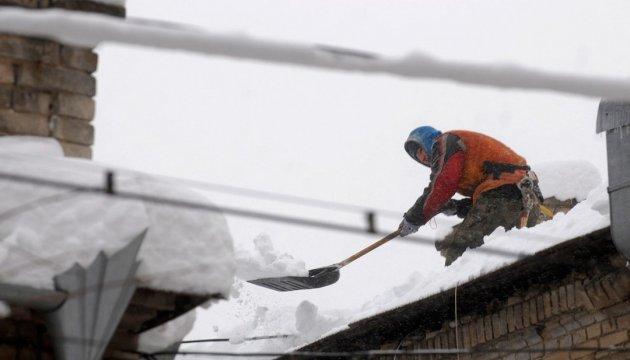 Ukraine's Emergency Service: 33 towns and villages left without electricity due to bad weather