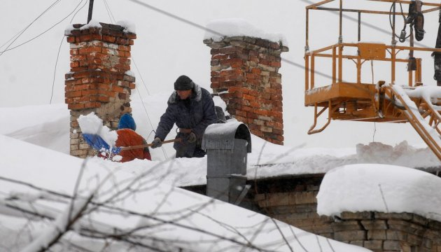 More than 60 towns and villages in Ukraine left without electricity due to bad weather