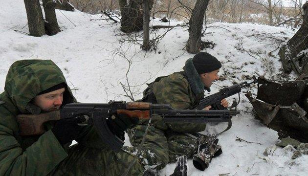 Боевики четыре раза обстреляли силы АТО под Красногоровкой