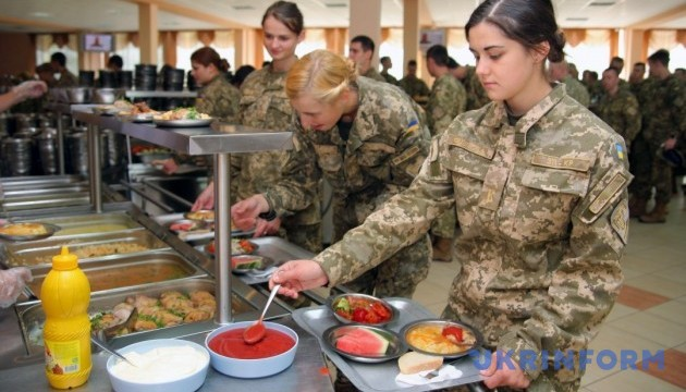 Военные части в 2018-ом будут заказывать еду по каталогам