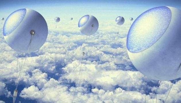 «Сонячні» повітряні кулі зможуть літати над хмарами та виробляти чисту енергію цілодобово