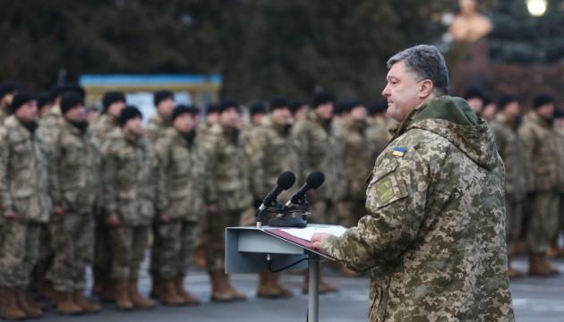 Президент нагородив 129 військових, 20 з них - посмертно