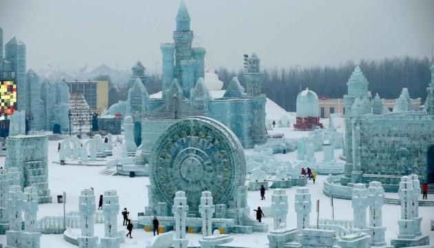 Китай запрошує на фестиваль снігових і крижаних скульптур