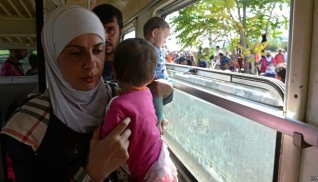 В ООН констатували скорочення потоків біженців в Європу