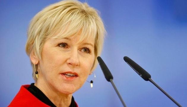 В Україну їде глава МЗС Швеції