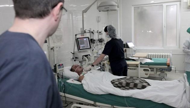 У шпиталях лікуються 86 поранених учасників АТО