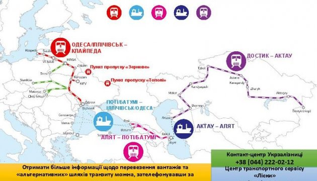 PM Groysman: Ukraine interested in developing transport links with other states