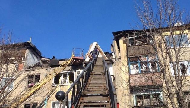 Вибух газу в Українську: під завалами загинули двоє дітей