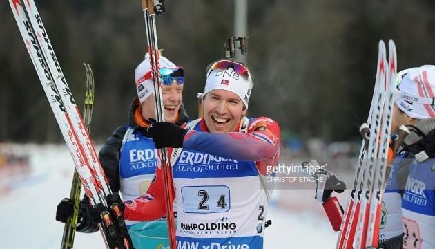 Норвежці виграли естафету в Рупольдингу, українці - 12-ті
