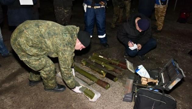 Демобілізовані з АТО  везли додому 5 гранатометів