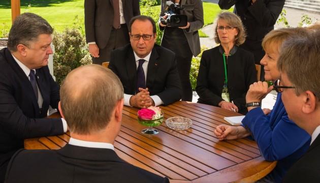 Посланці Меркель і Олланда відвідають Київ і Москву