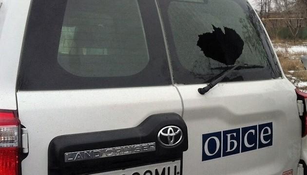 У ОБСЄ розповіли про обстріл спостерігачів у Мар'їнці