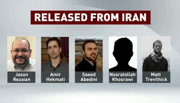Білий дім підтвердив звільнення Іраном чотирьох американців