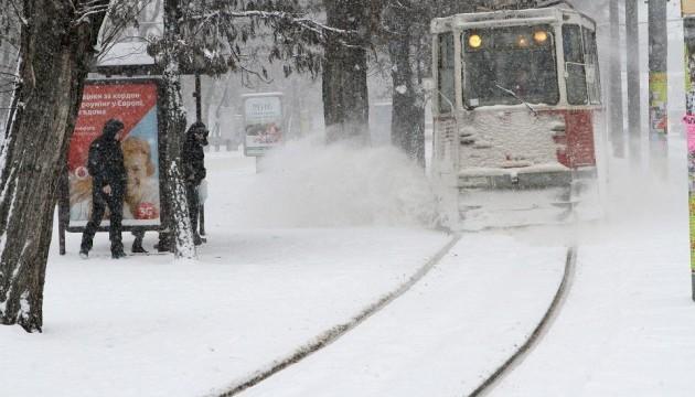 В Украине в понедельник небольшой снег, ночью до -11°