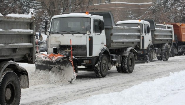 У Києві можуть обмежити в'їзд вантажівок через снігопад