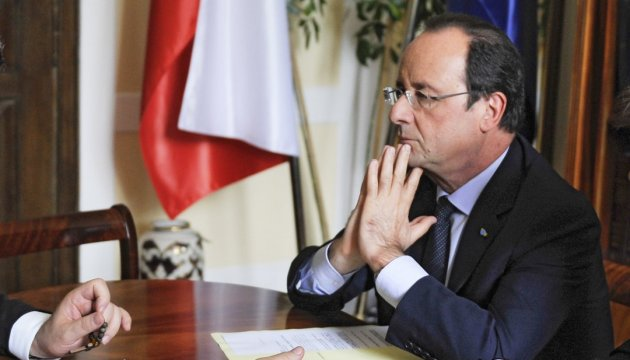 Minsk agreements must be implemented as soon as possible – Hollande