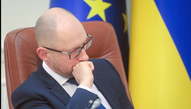 Yatsenyuk convenes stability council's meeting to discuss hryvnia