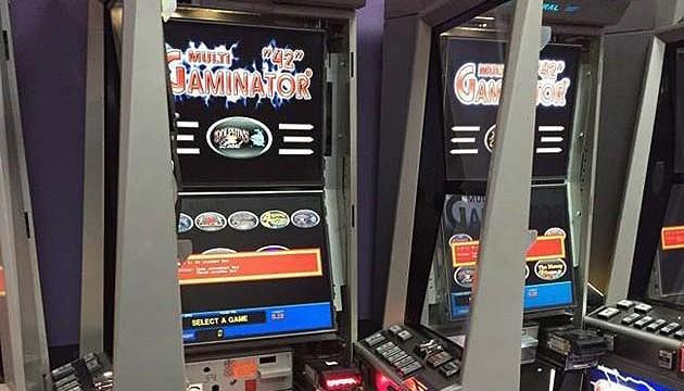 Закрили ігрові автомати